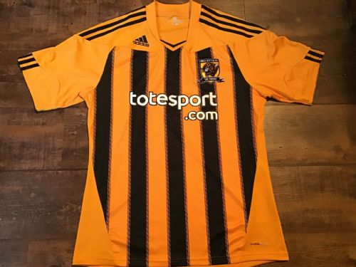 2010 2011 Hull City Home Football Shirt Large